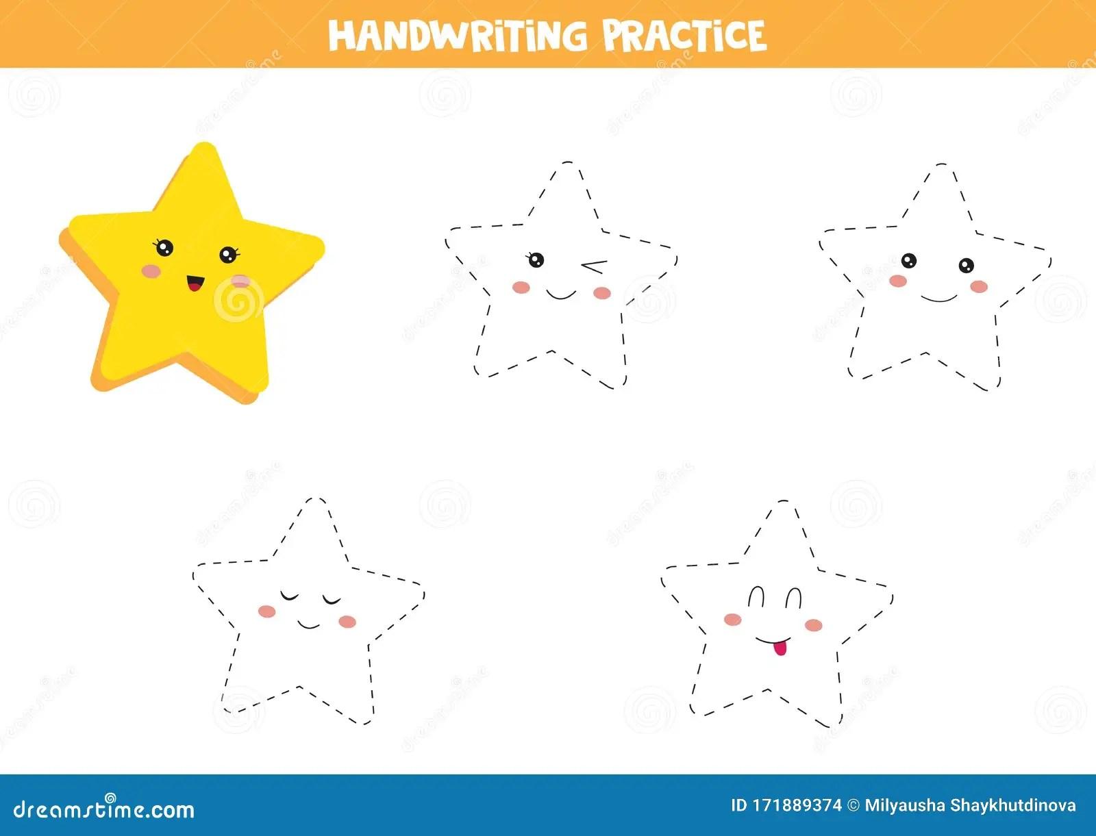 Handwriting Practice For Kids Preschool Worksheet