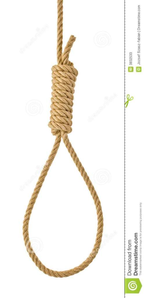 small resolution of hanging noose