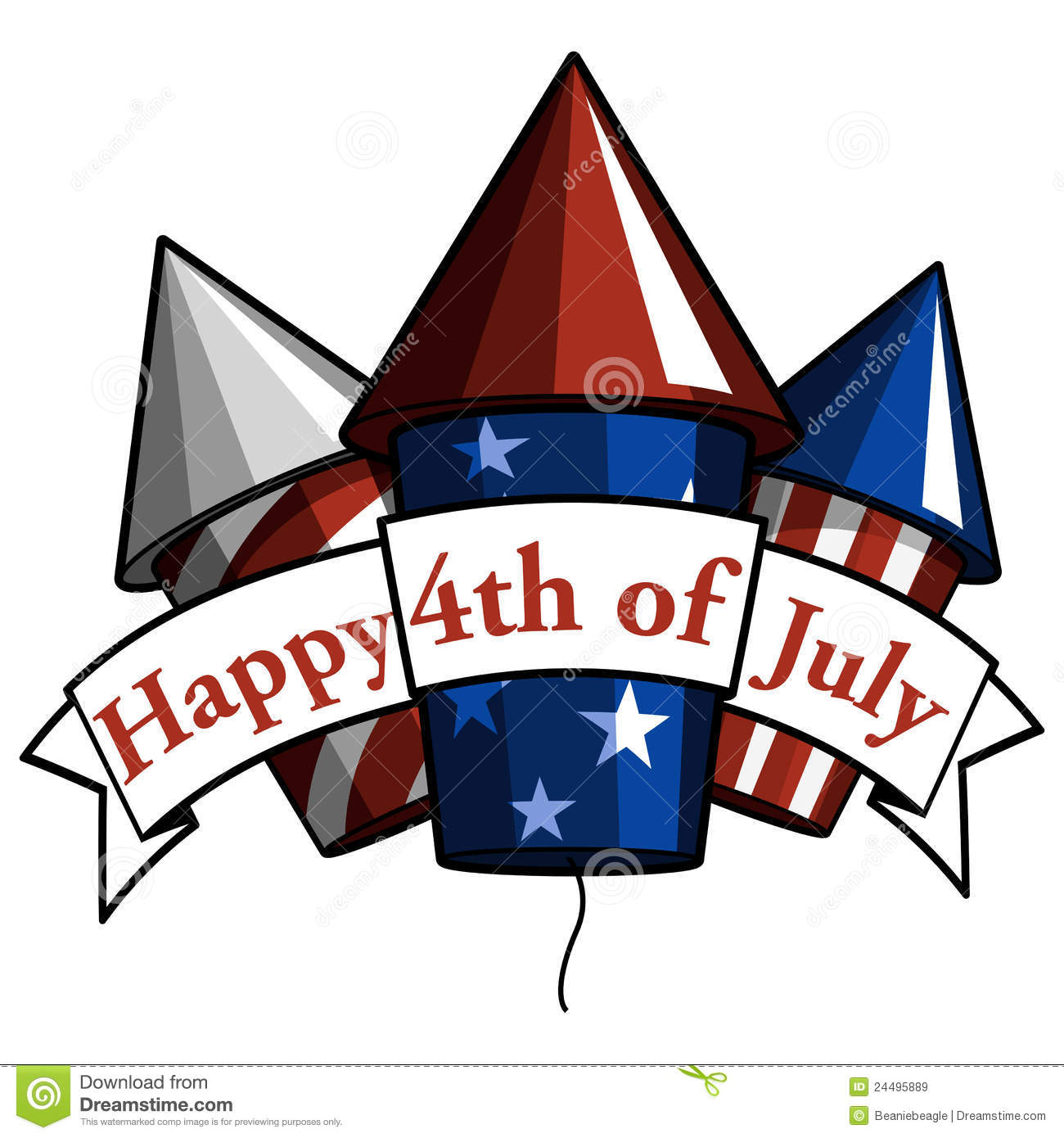 hight resolution of happy 4th of july