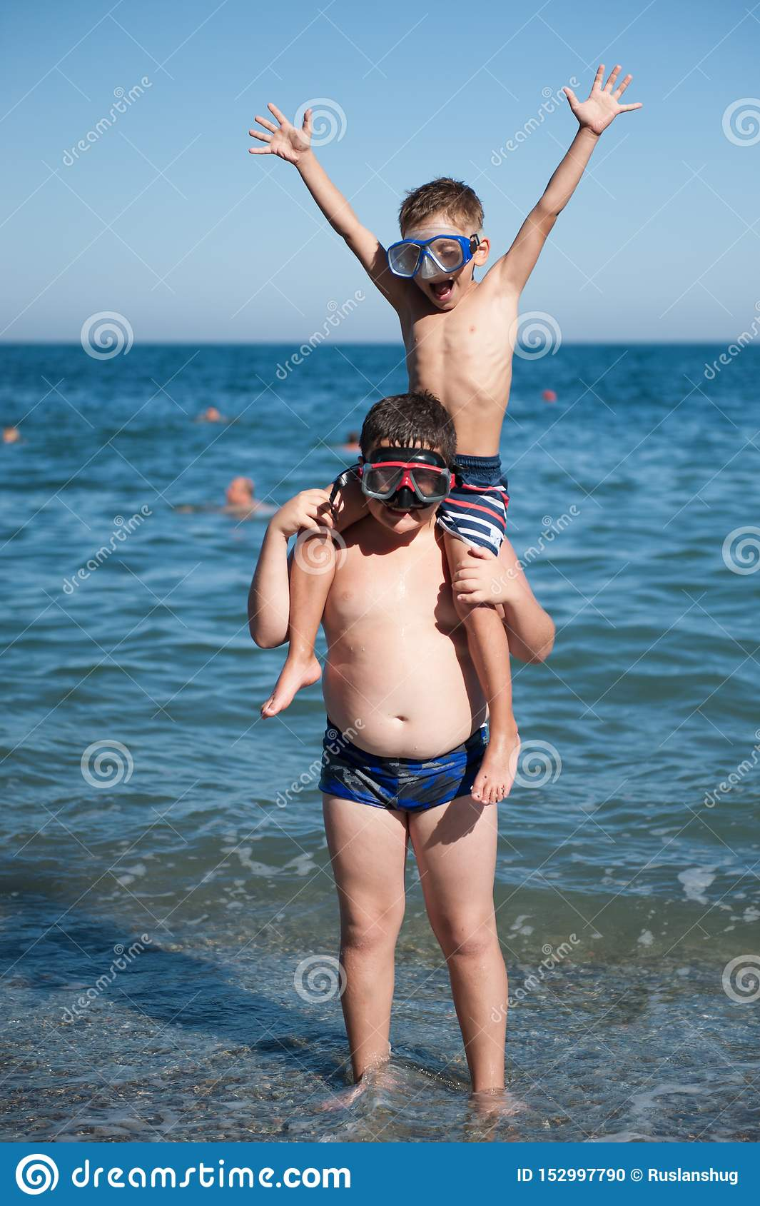 Funny Fat Kid On Beach : funny, beach, Happy, Active, Funny, Sport, Little, Sitting, Thick, Child, Diving, Shoulders, Standing, Summer, Sunny, Beach, During, Stock, Photo, Image, Leisure,, Activity:, 152997790