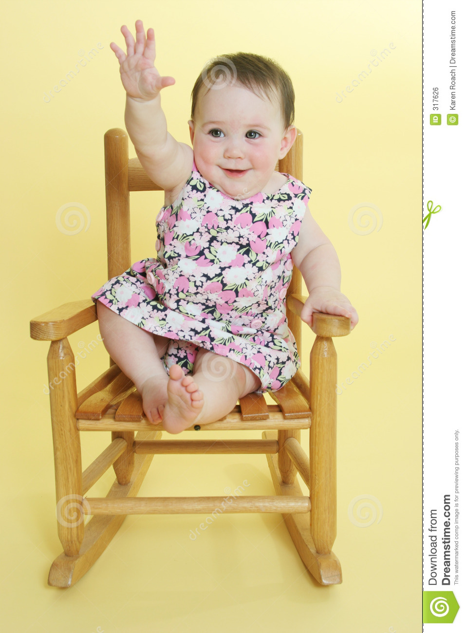 free rocking chair plans country french chairs upholstered happy baby raising hand stock photo. image of hand, motherhood - 317626