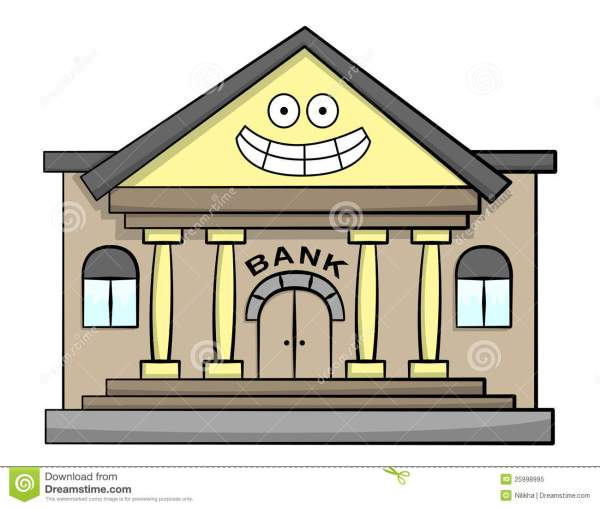 happy bank royalty free stock