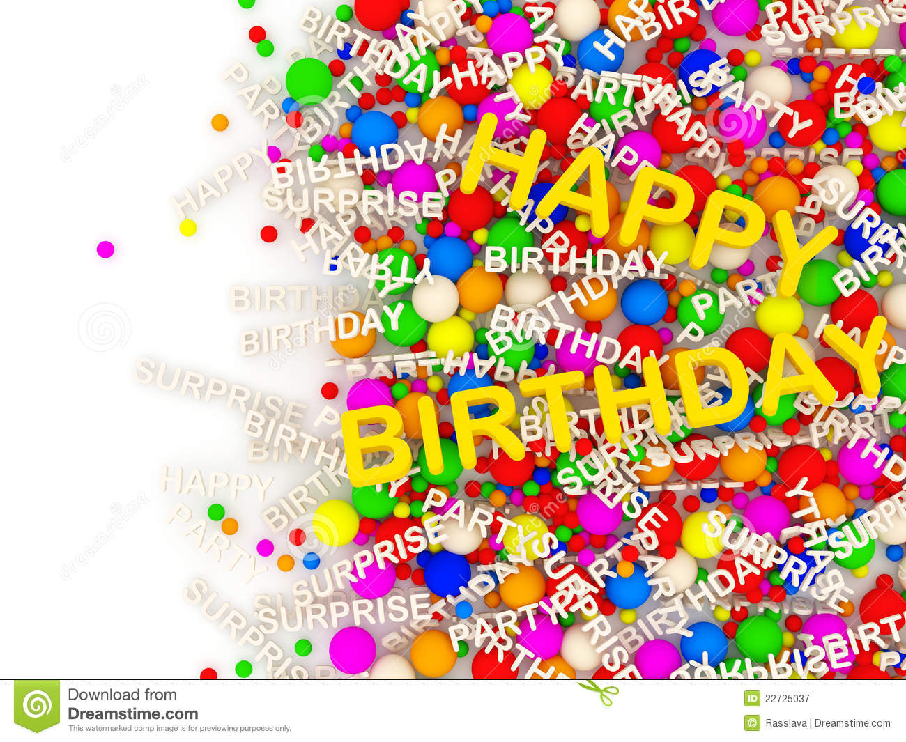 Happy Birthday Background With Place For Your Text Royalty