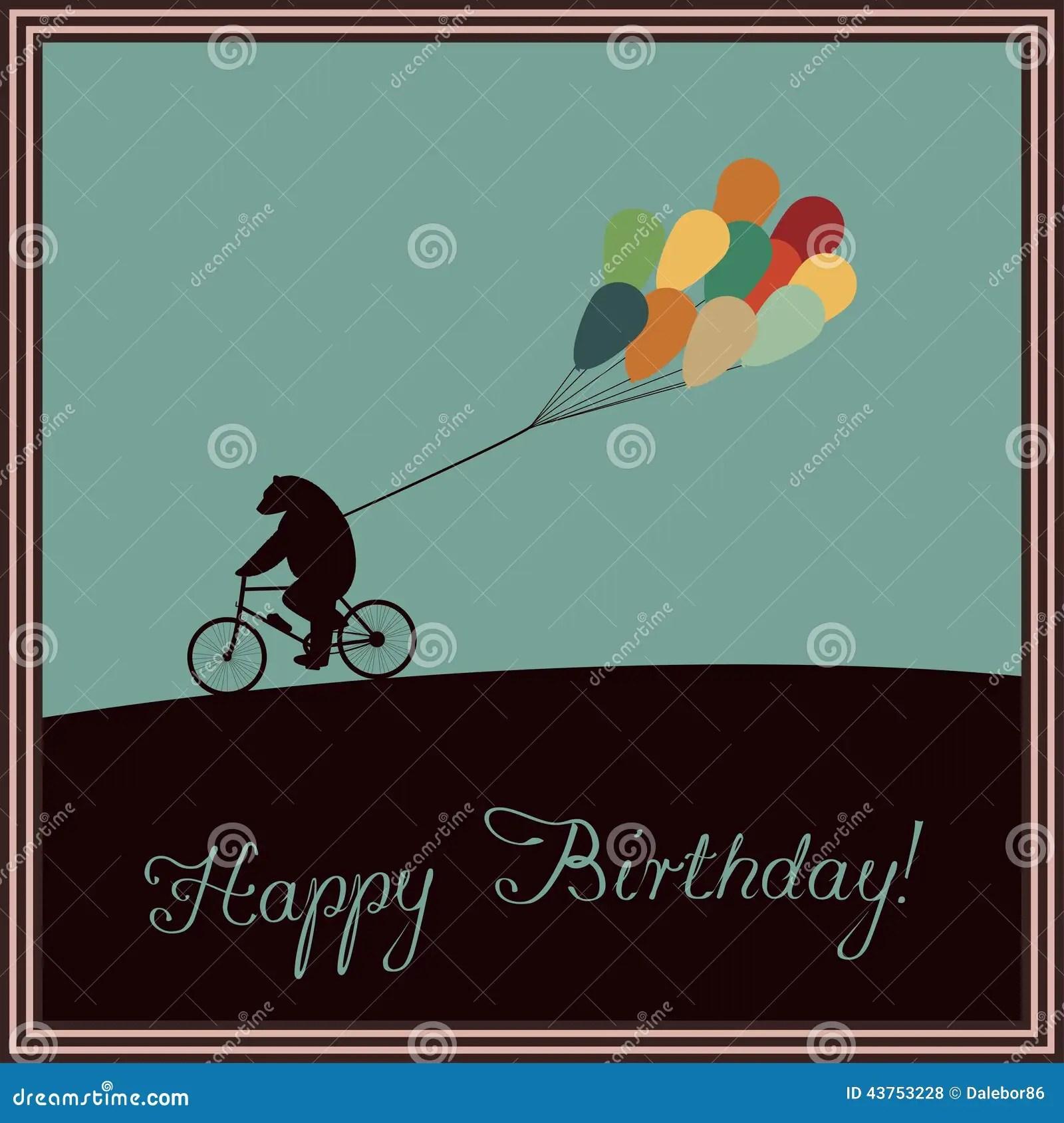 Happy Birthday Stock Vector Image 43753228