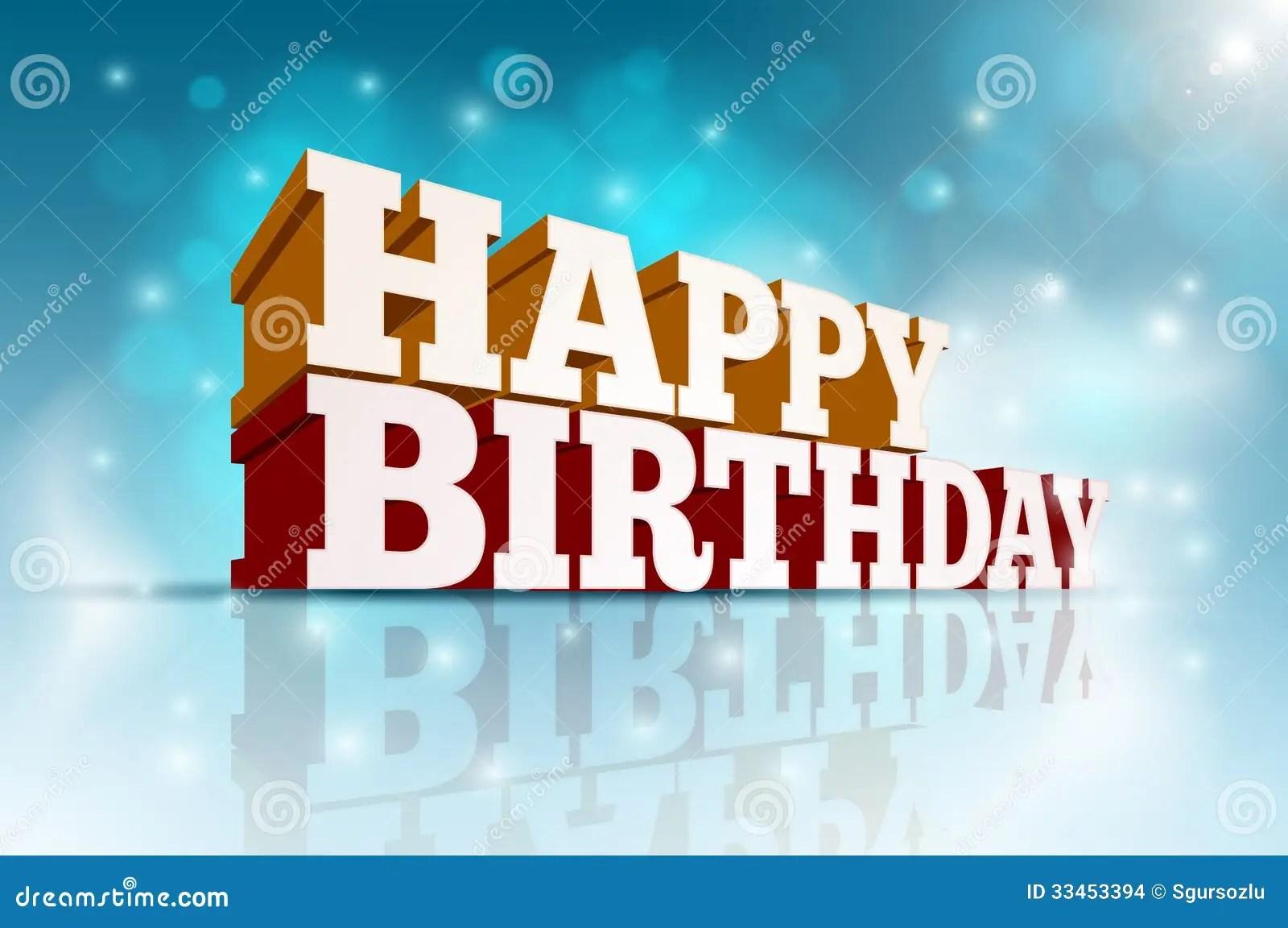 Happy Birthday Stock Images  Image 33453394