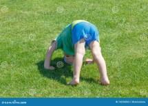 Barefoot Little Boy Stock - 4 887