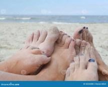 Happy Feet Stock Of Ocean Legs
