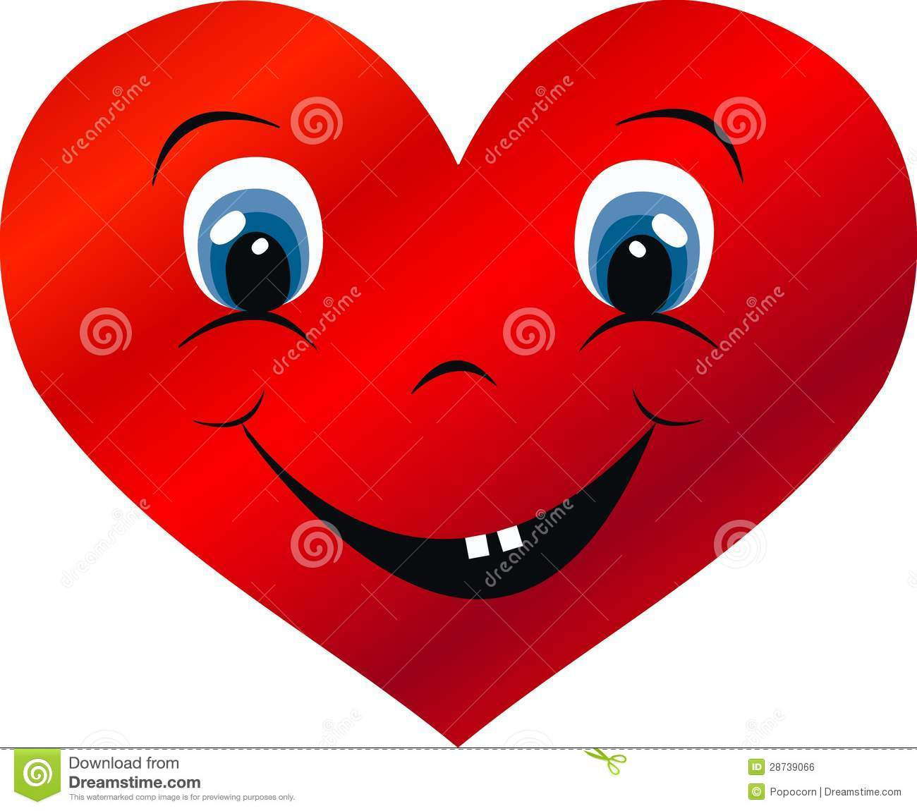 Happy Heart Royalty Free Stock Image Image 28739066