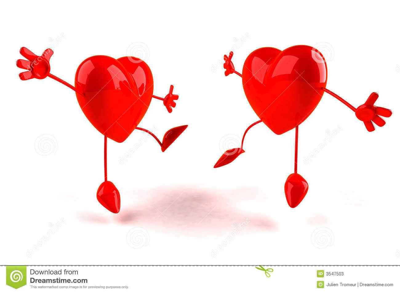 Happy Hearts Stock Photos Image 3547503