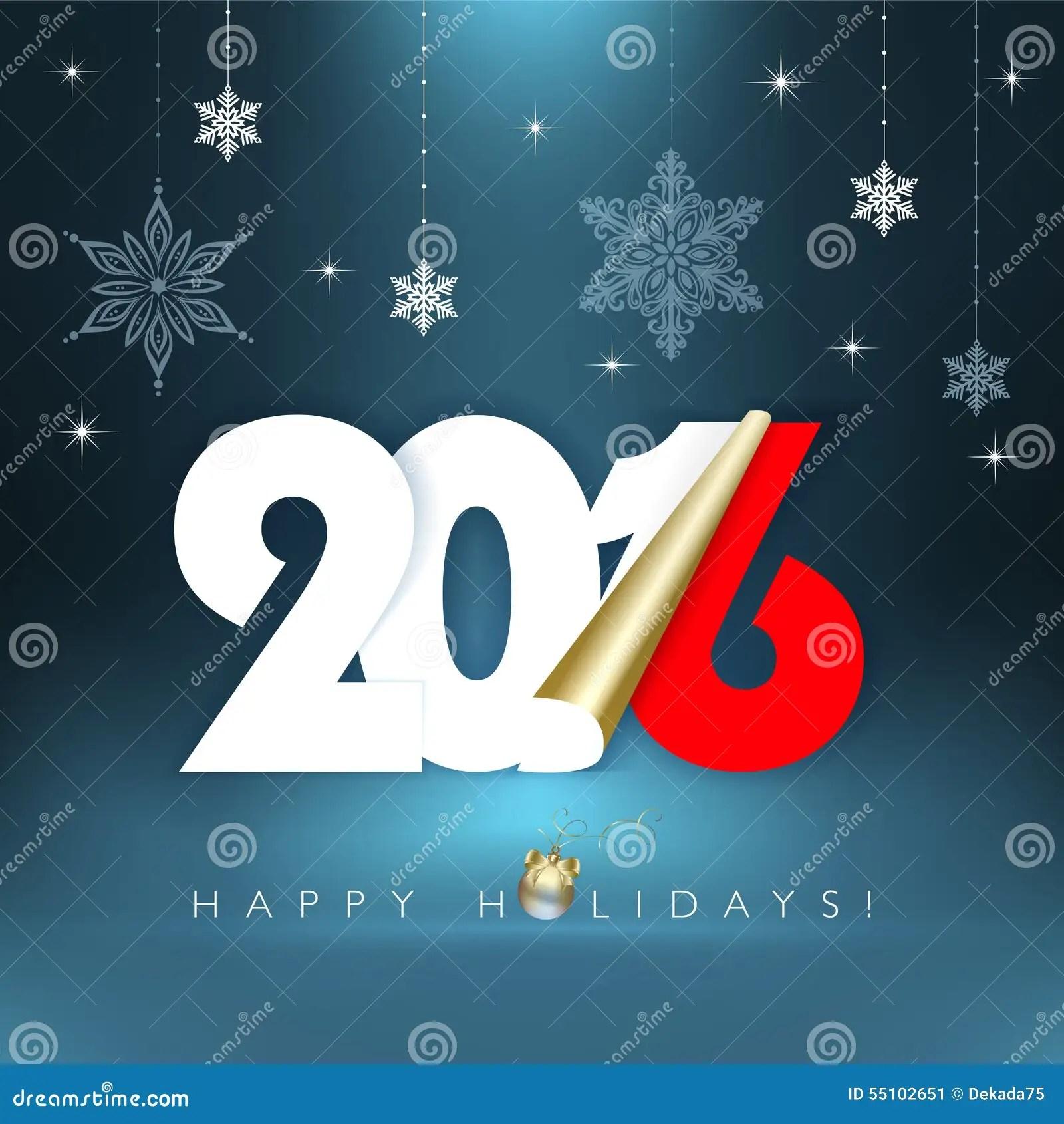 Happy Holidays Stock Vector