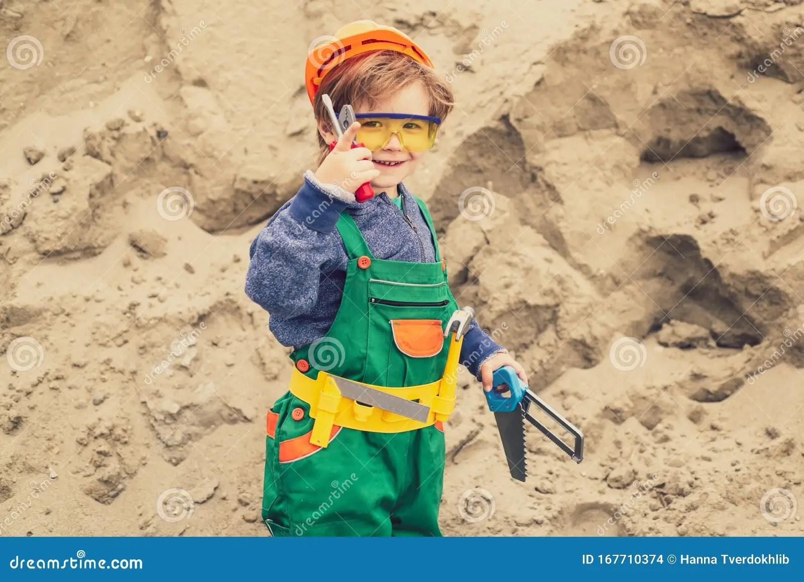 Happy Master Future Profession Carnival For Children In