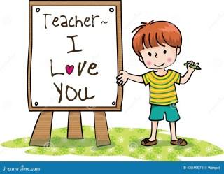 teachers happy boy say pencil insegnanti felice giorno degli holding opinione matita