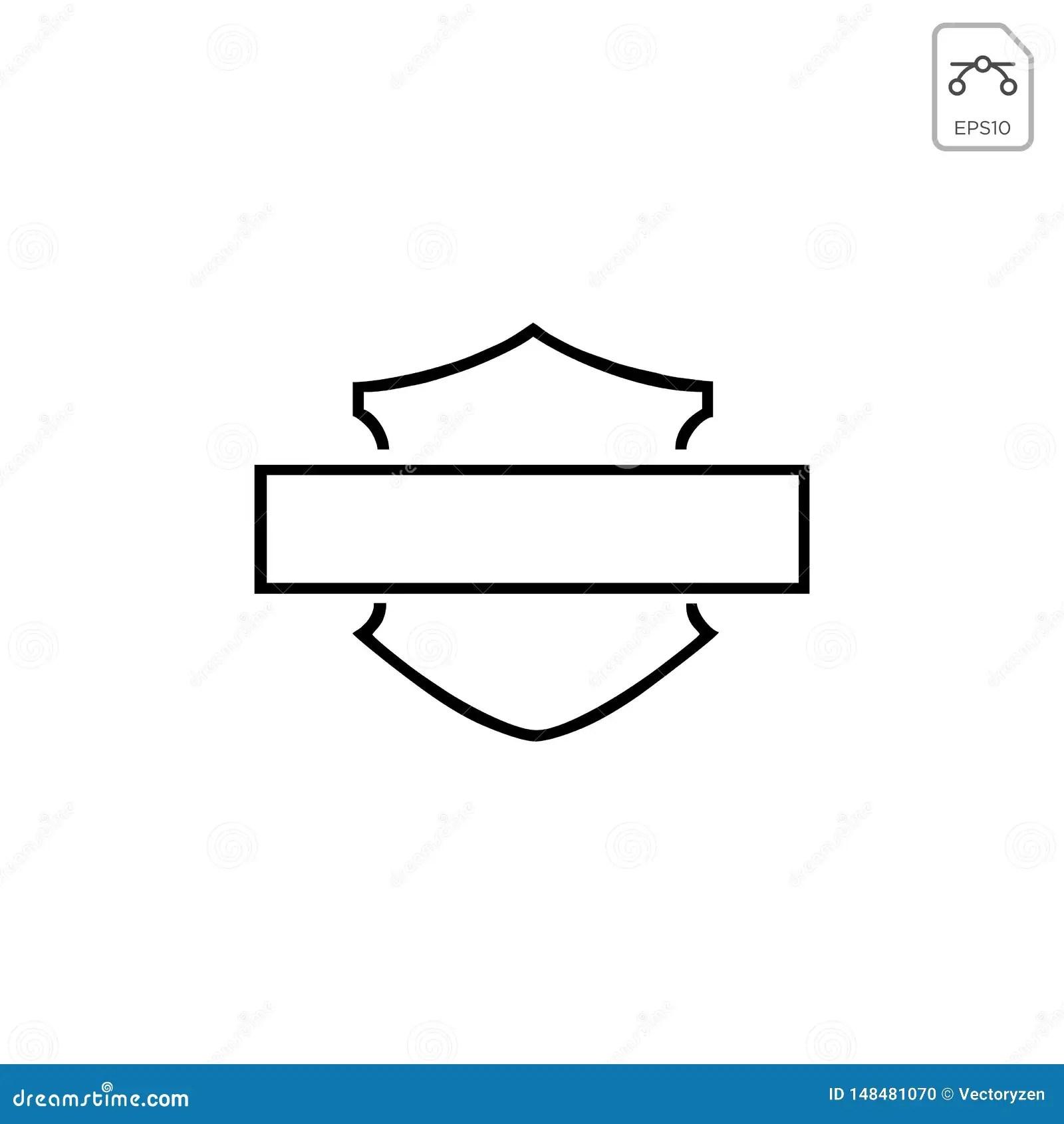 hight resolution of harley davidson emblem or icon abstract vector element isolated motor club illustration silhouette vintage biker wheel old race logo motorbike symbol engine