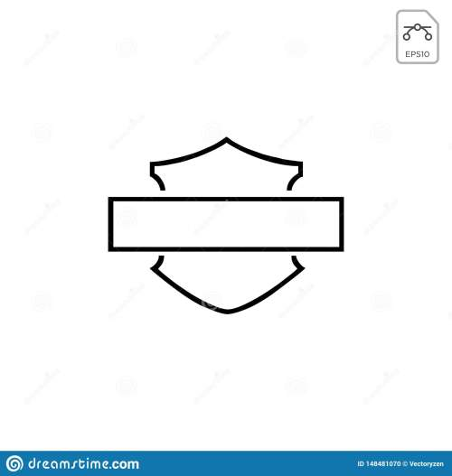 small resolution of harley davidson emblem or icon abstract vector element isolated motor club illustration silhouette vintage biker wheel old race logo motorbike symbol engine