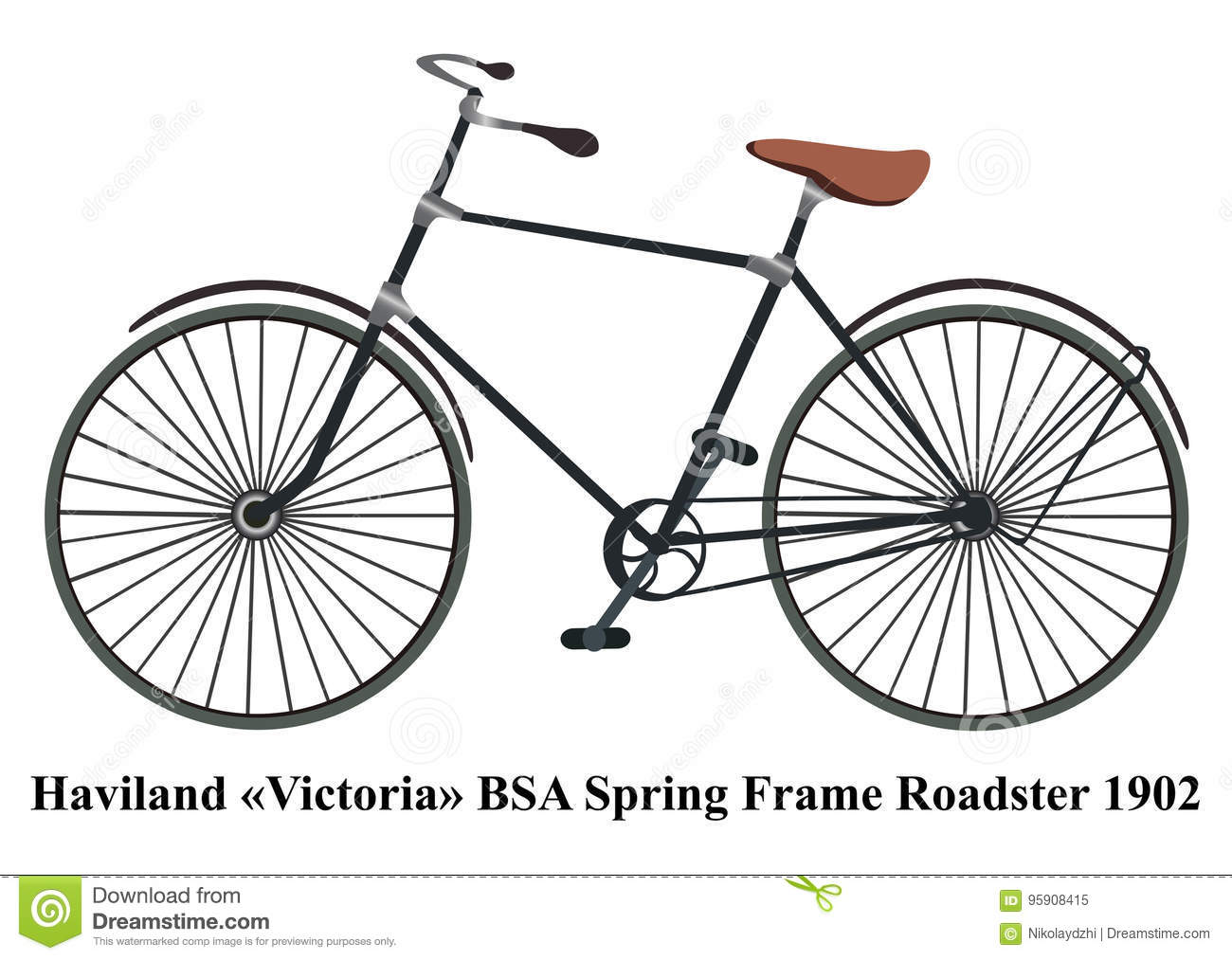 bsa bike frame