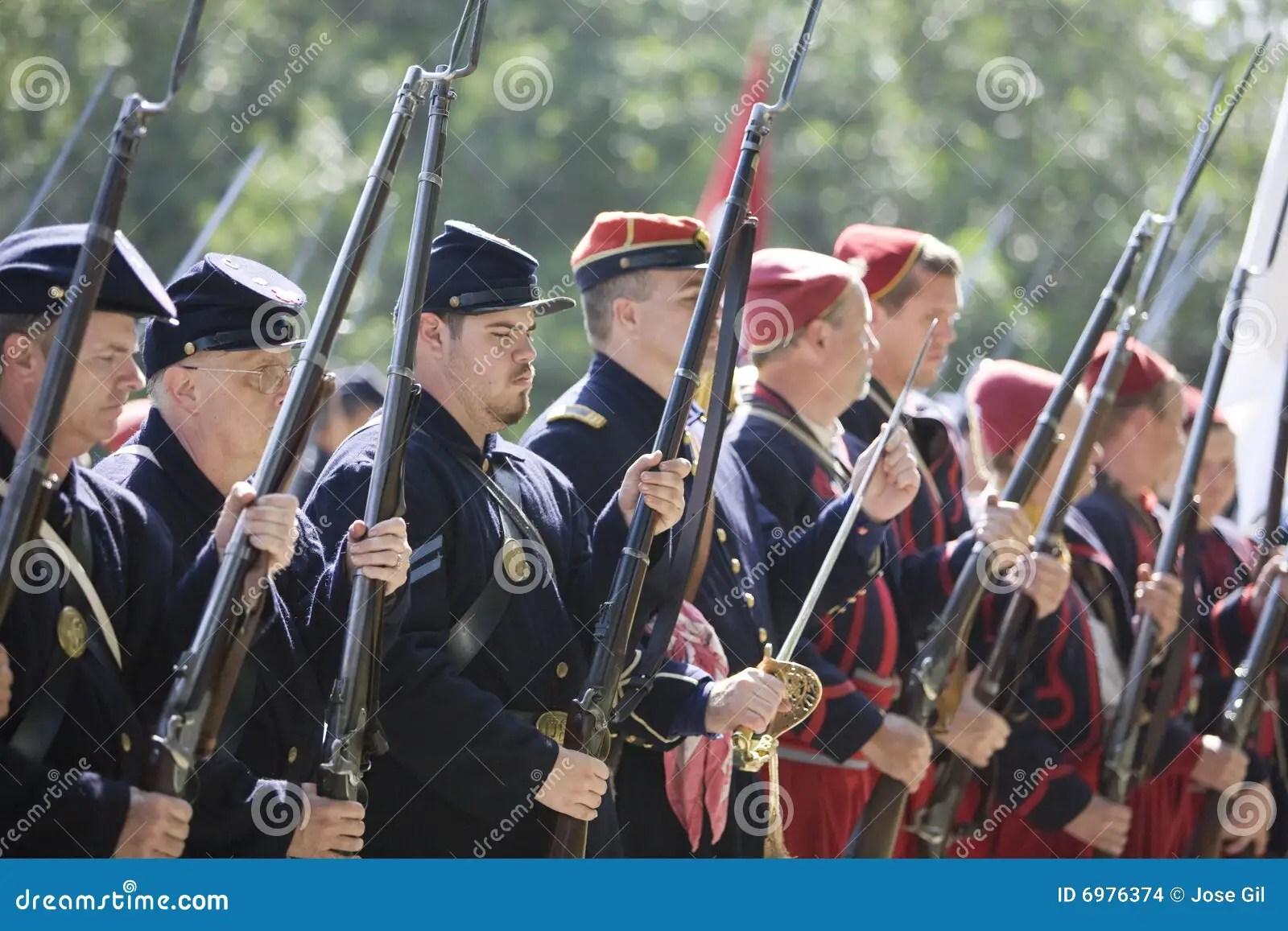 HB Civil War Re-Enactment 3363 Editorial Stock Image - Image of enactment. period: 6976374