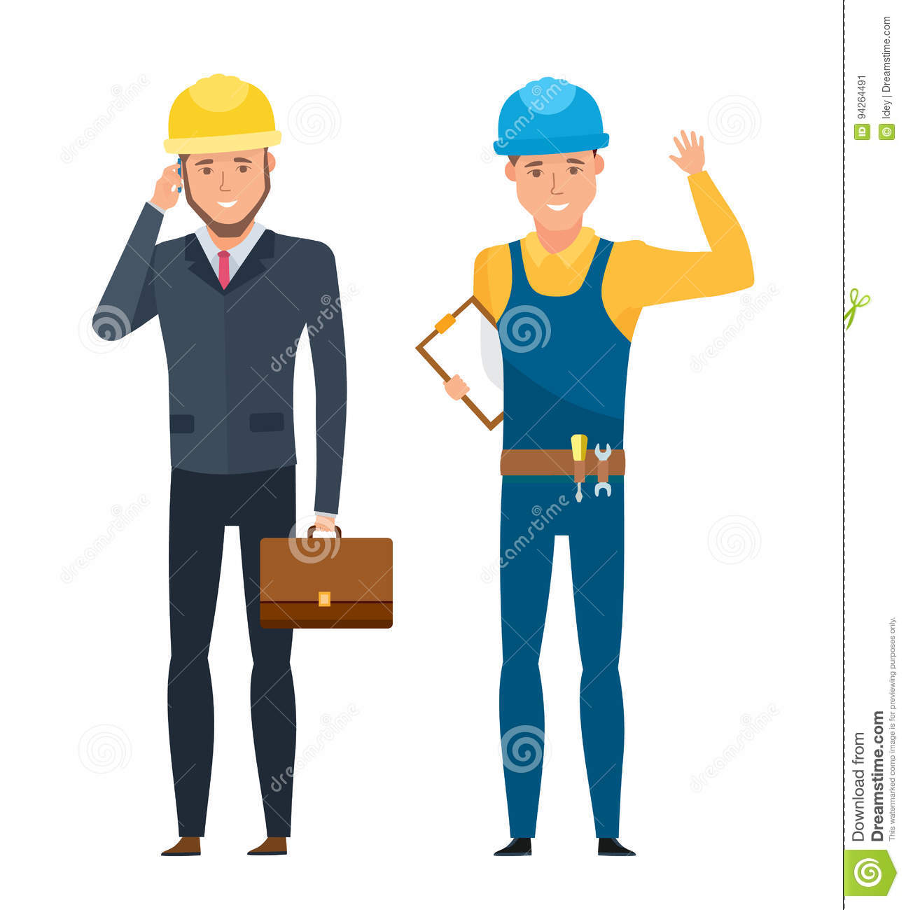 Supervisor Cartoons Illustrations  Vector Stock Images