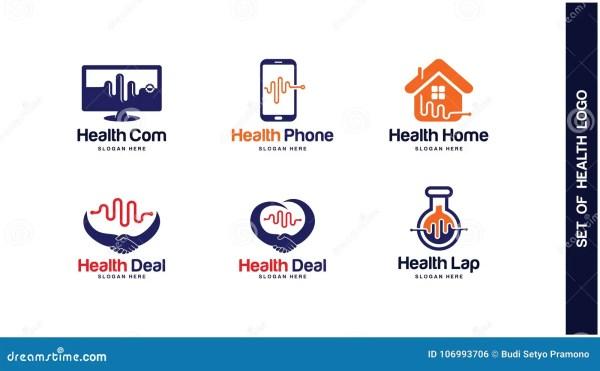 Health Logo Design Concept Types Of
