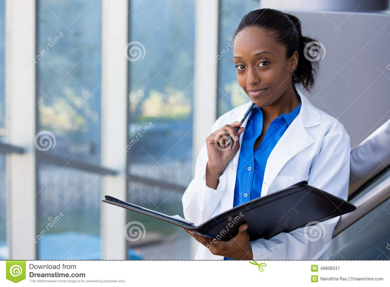 Healthcare Worker Stock Image Image Of Adult Graduate