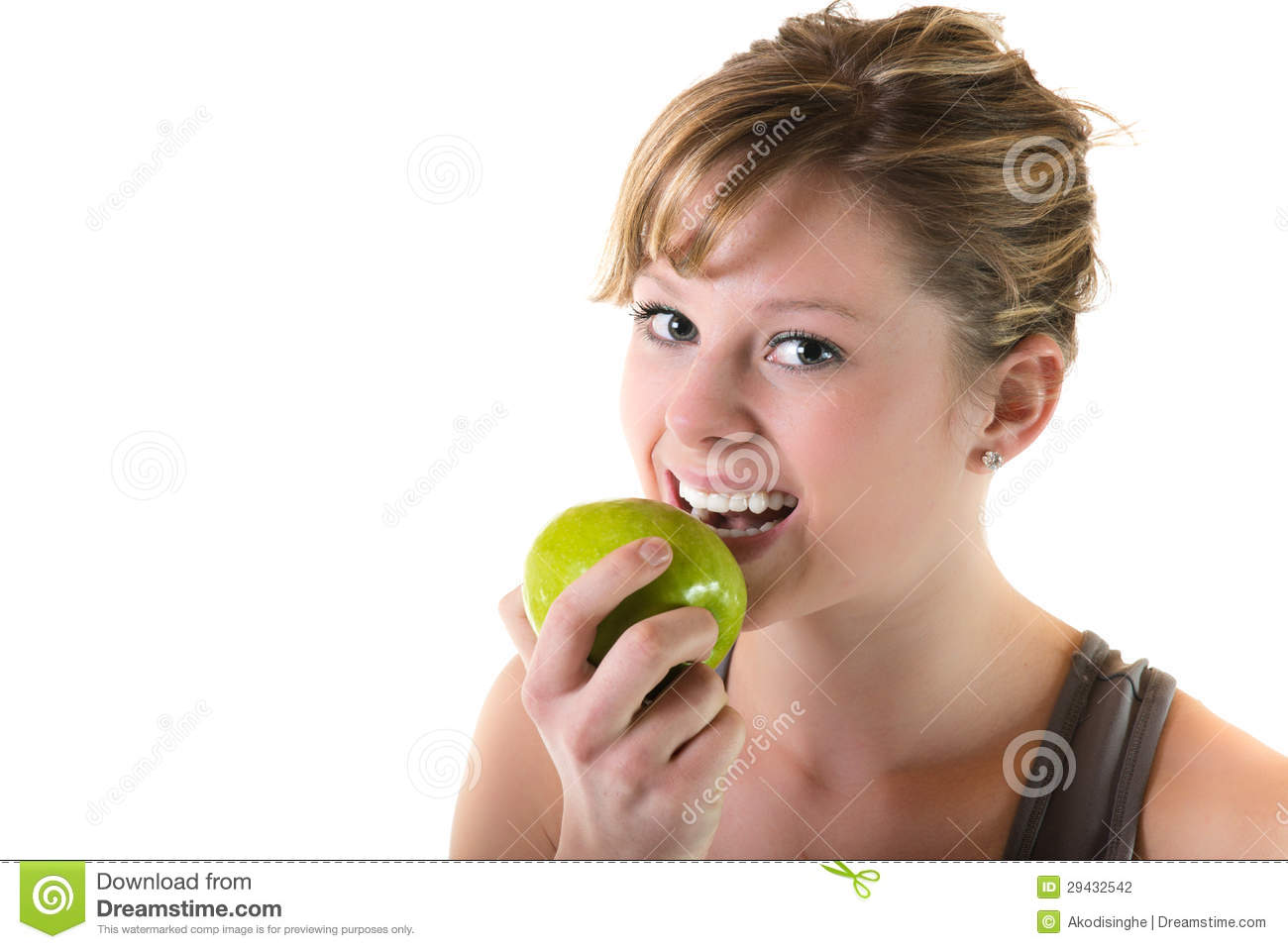 Healthy Eating For Teenagers Stock Photo
