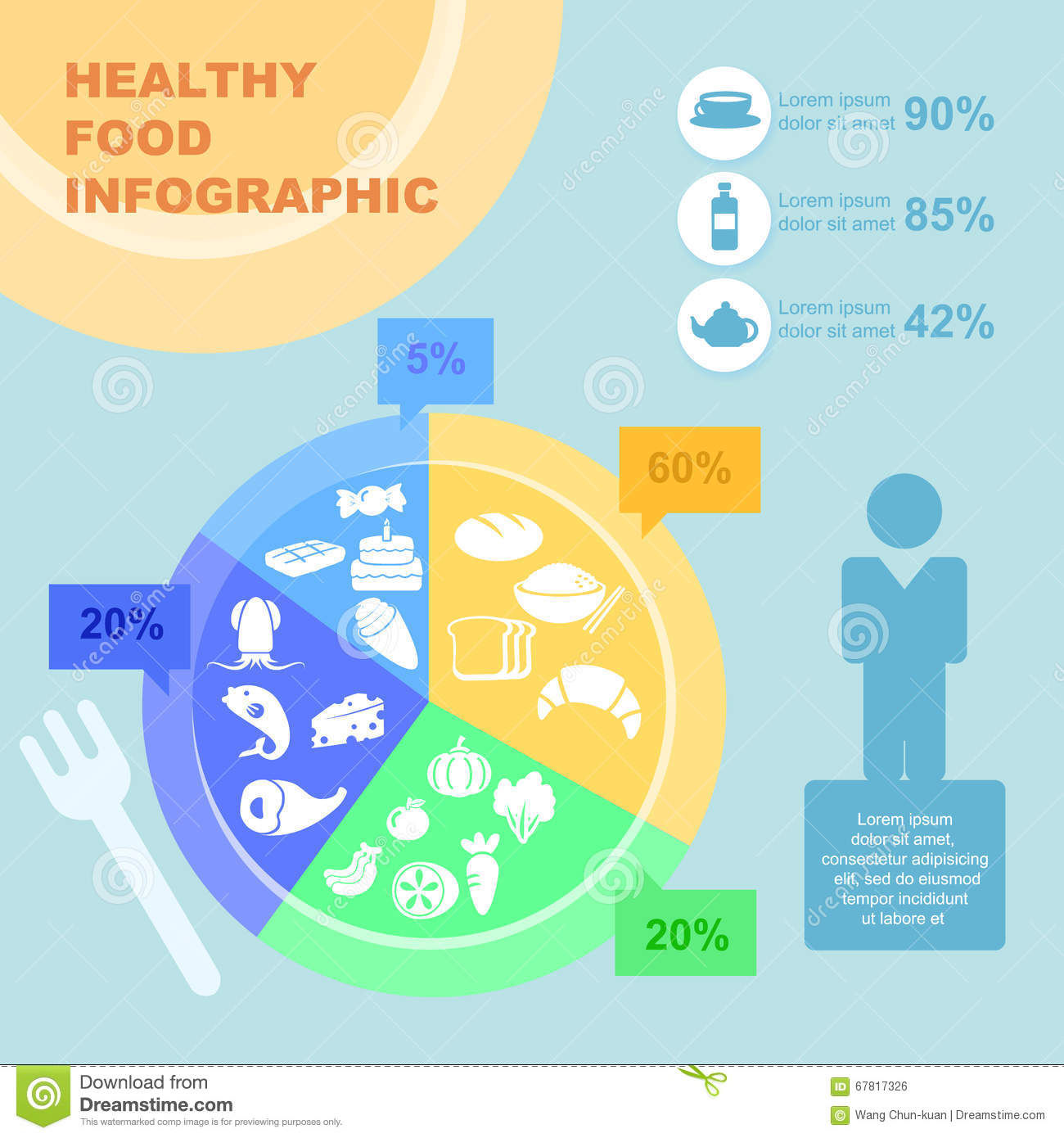 hight resolution of healthy food infographic great for health concept design