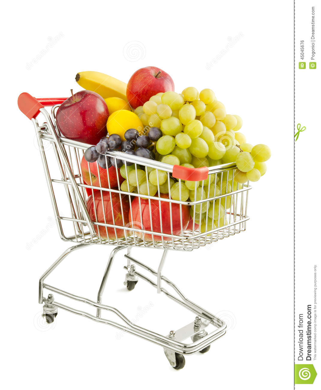 Healthy Food Shopping Stock Photo Image Of Lemon Loss