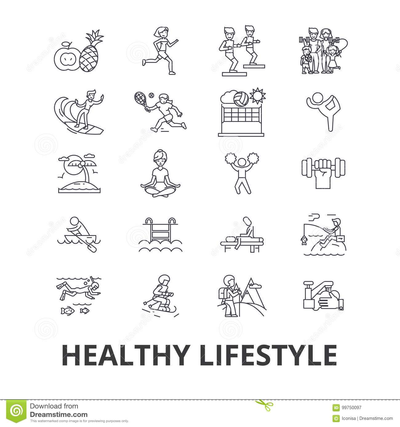 Healthy Lifestyle, Active Living, Natural Food, Healthcare