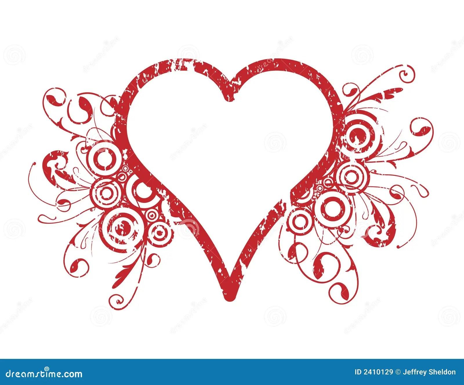 Heart Design Stock Vector Illustration Of Curving