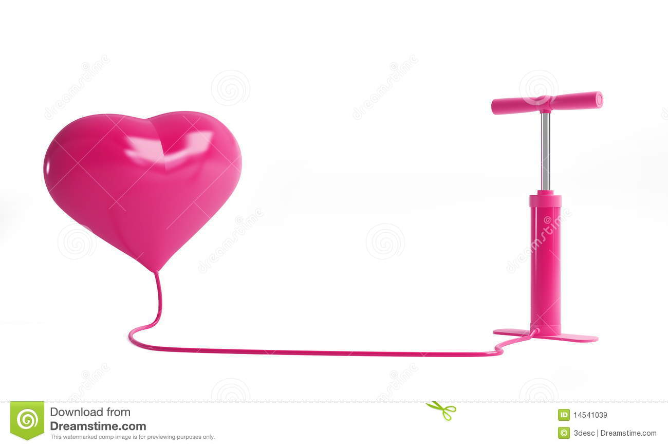 Heart Pump Royalty Free Stock Images