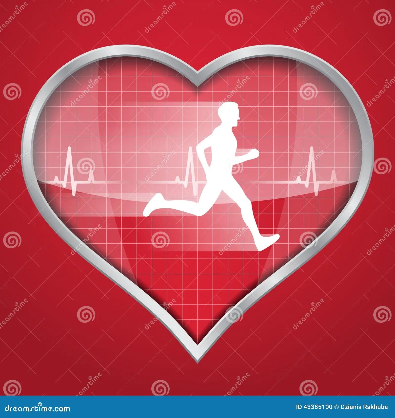 heart diagram inside 7 blade trailer wiring life line a shape stock photo cartoondealer