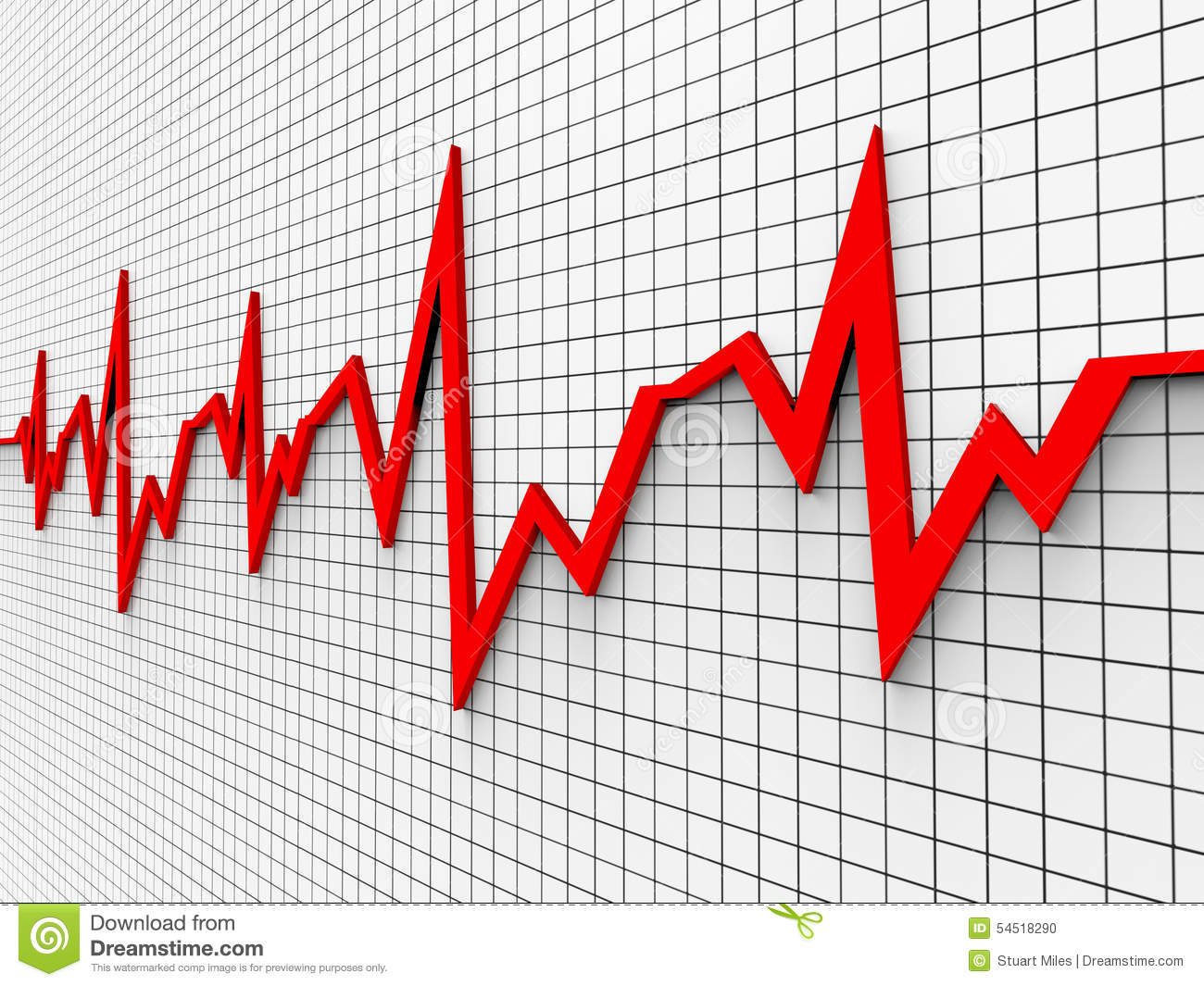 heart beat diagram blank skeletal heartbeat chart shows flat screen and cardiograph stock