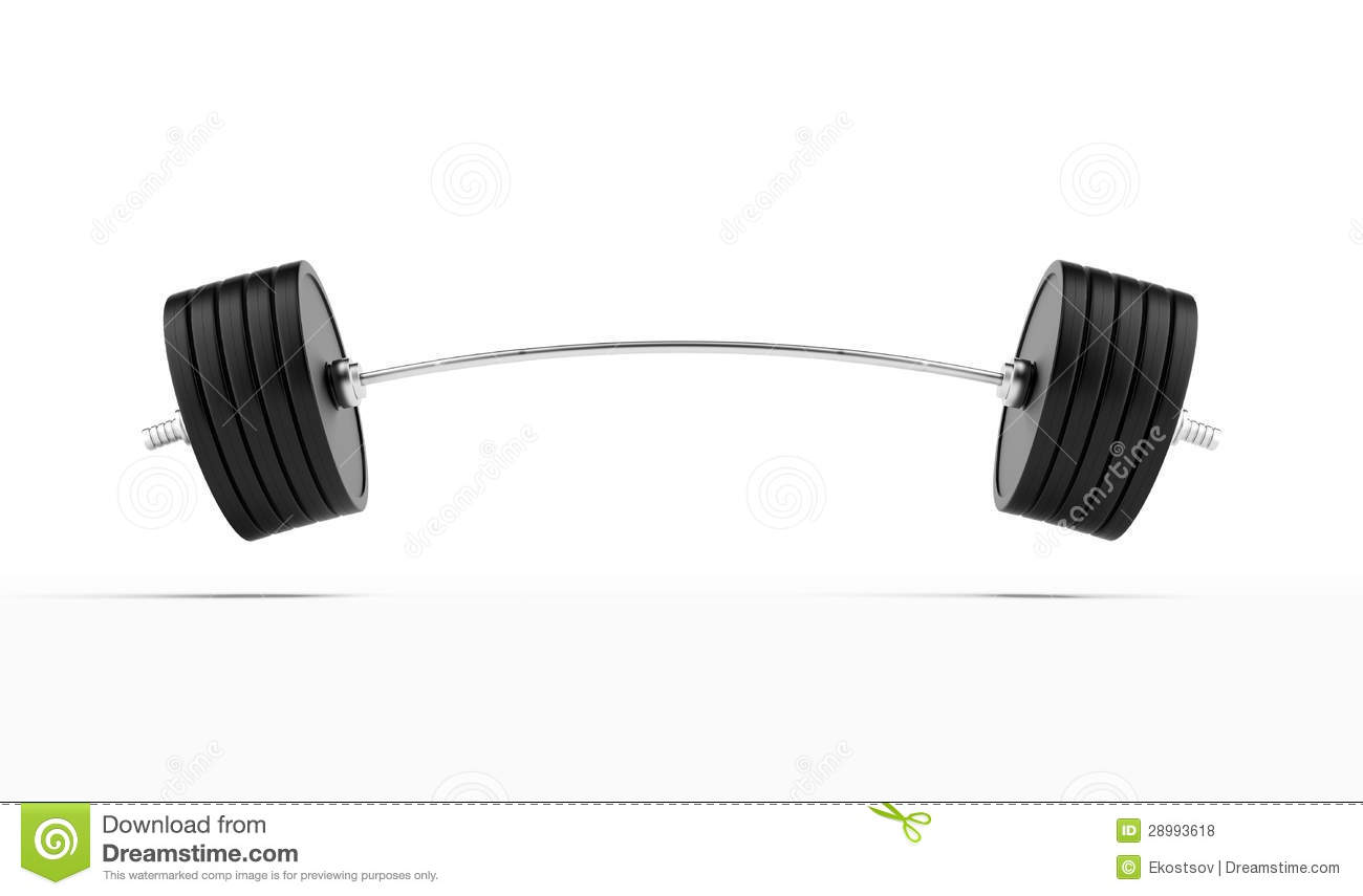 Heavy Barbell Stock Illustration Image Of Lifestyle