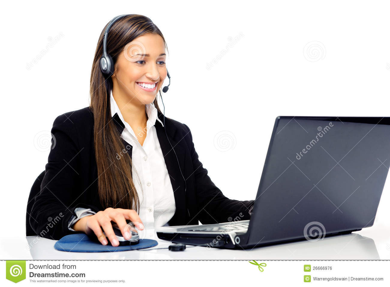 Help Desk Call Center Royalty Free Stock Image  Image 26666976