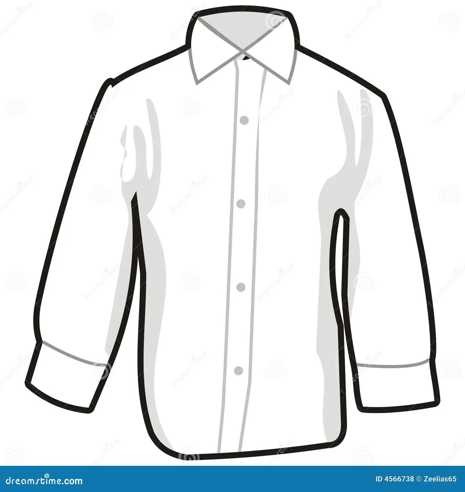 Hemd Vektor Abbildung Illustration Von Kleidung Getrennt