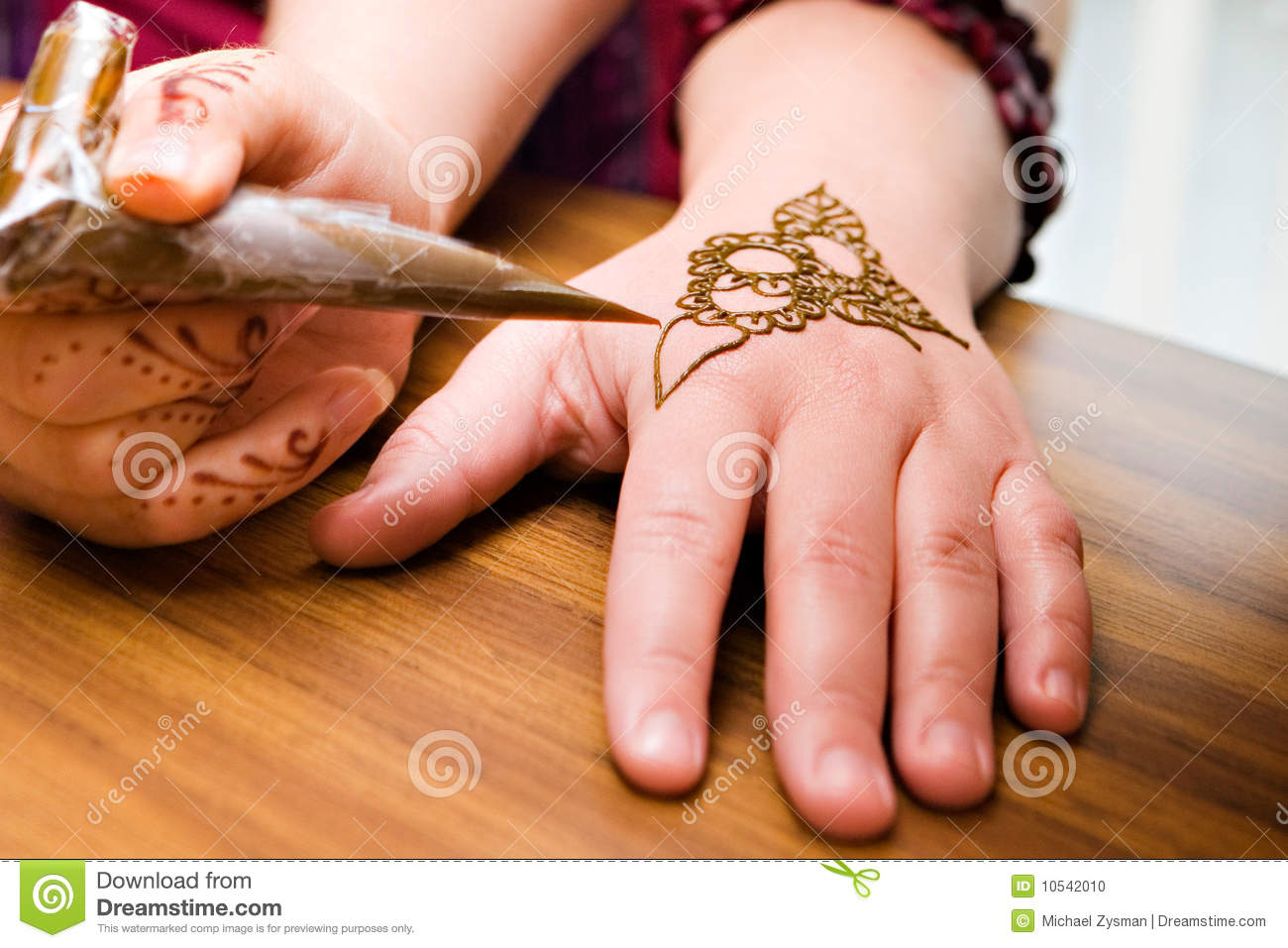 Henna Application stock photo Image of pattern stain