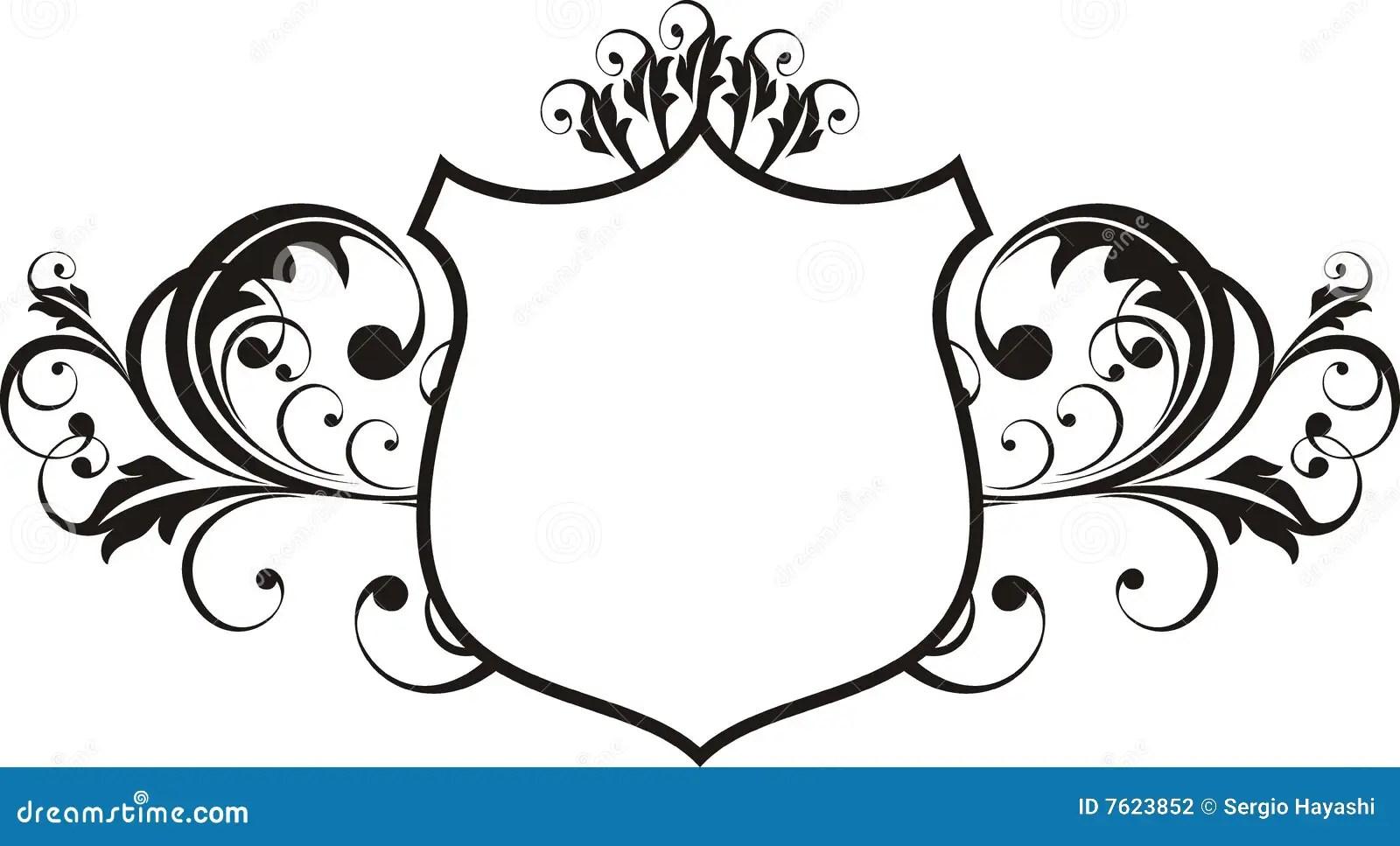 Heraldry Frame Stock Vector Illustration Of Deco Artwork