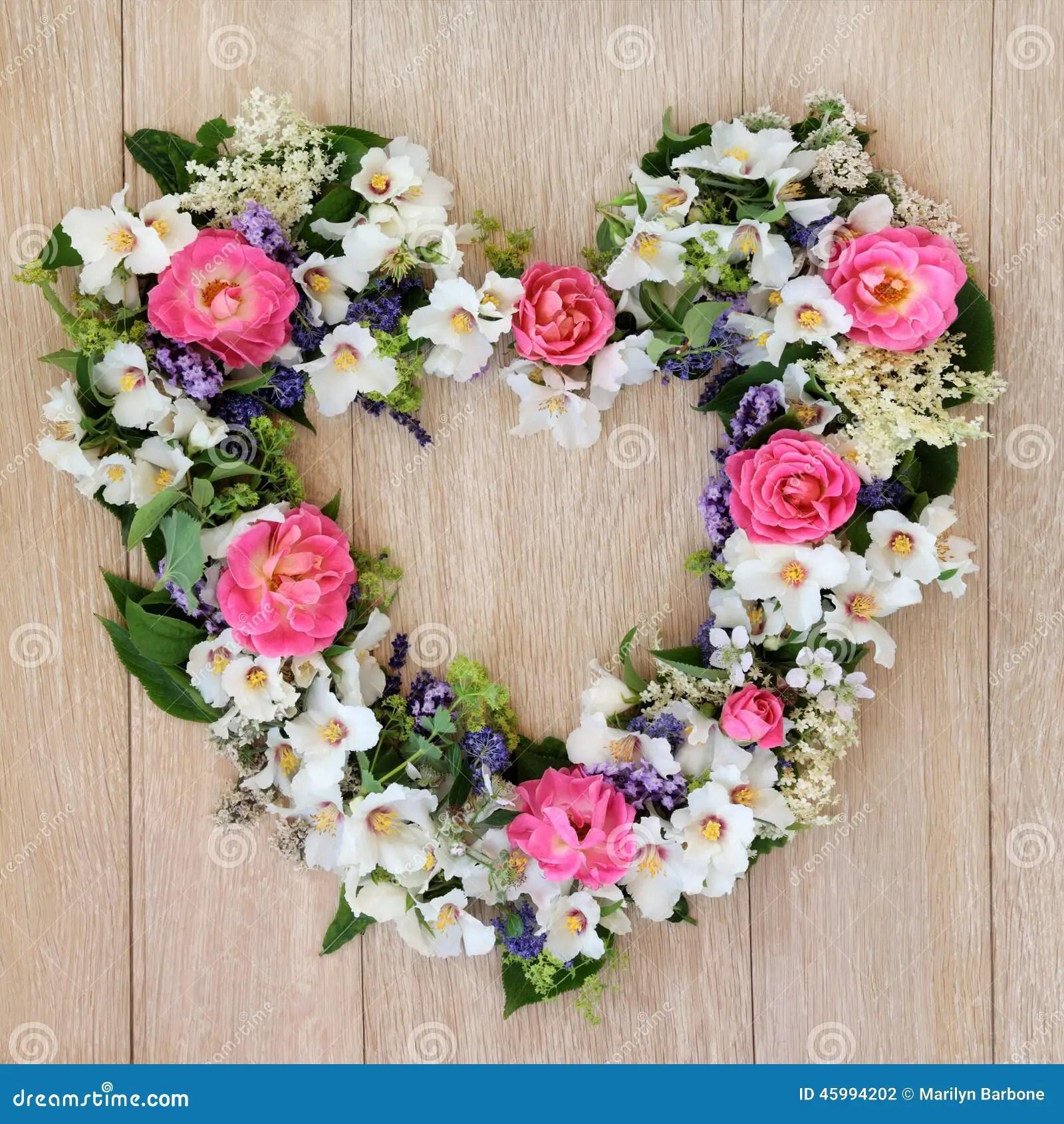 Foto Blumen Herz