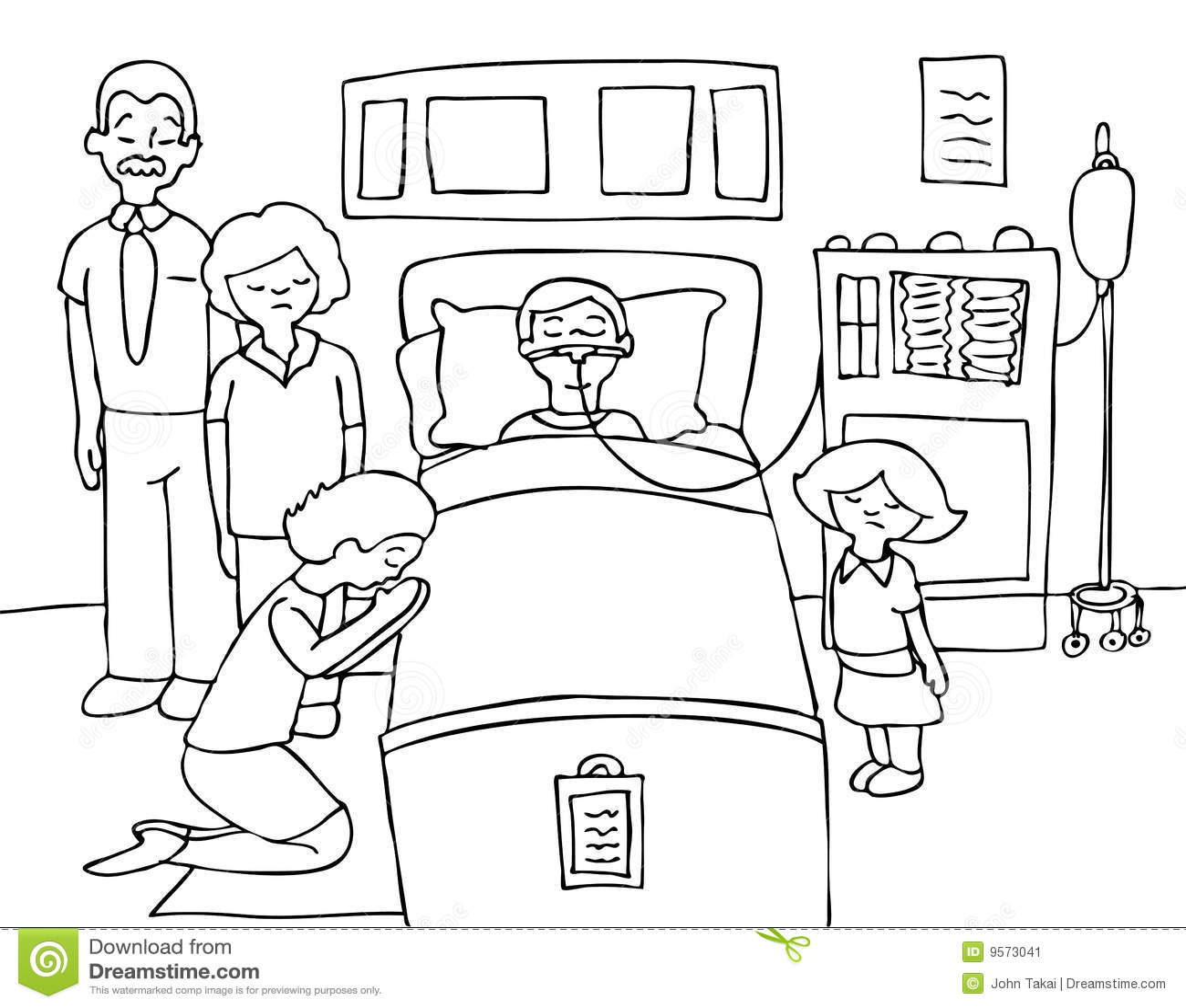 Het Zwart Witte Kind Van Het Coma