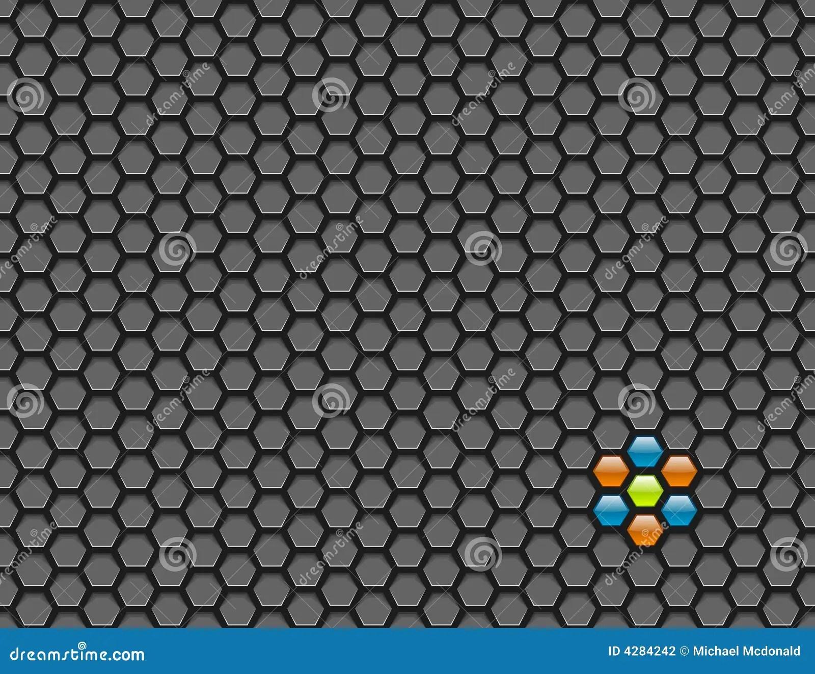 Hexagon Mesh Background Stock Photography  Image 4284242