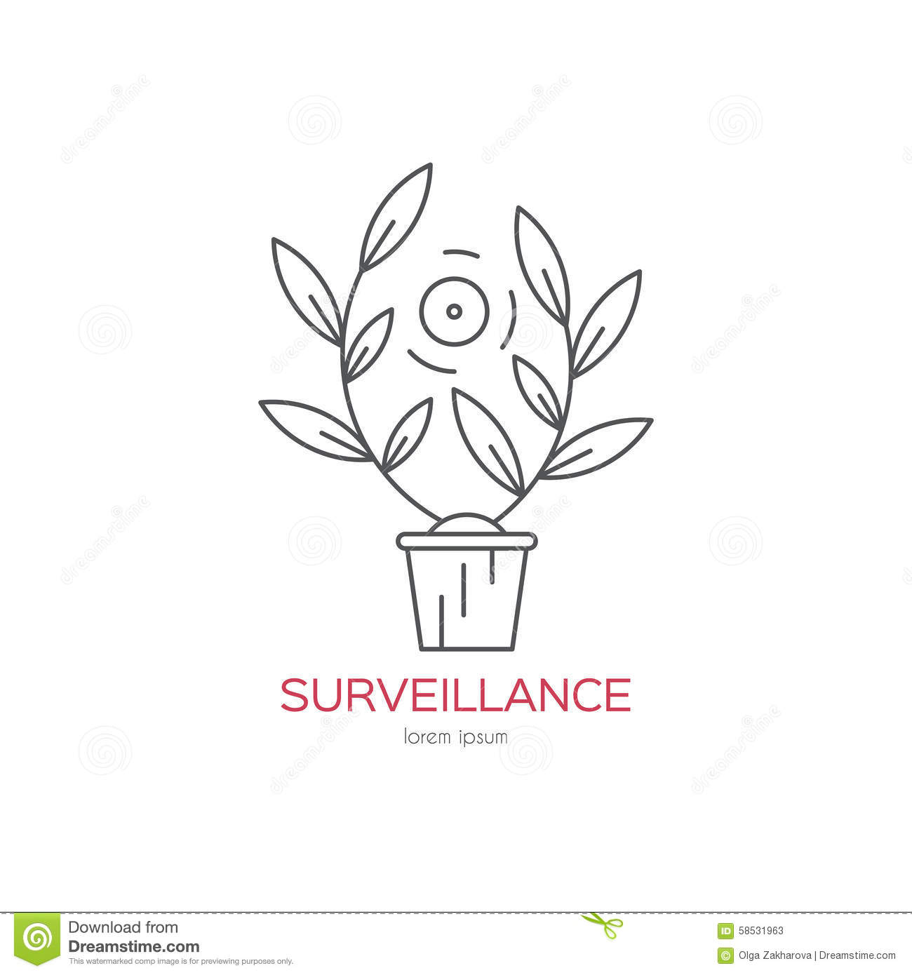 Hidden Camera stock image. Image of graphic, sign, system