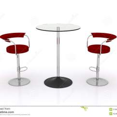 Chairs For High Table Best Outdoor Rocking Glass Top W Stock Illustration Image