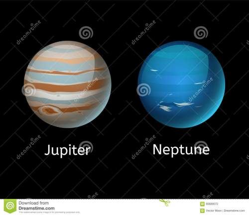 small resolution of high quality jupiter galaxy astronomy neptune planet science globe cosmos star vector illustration