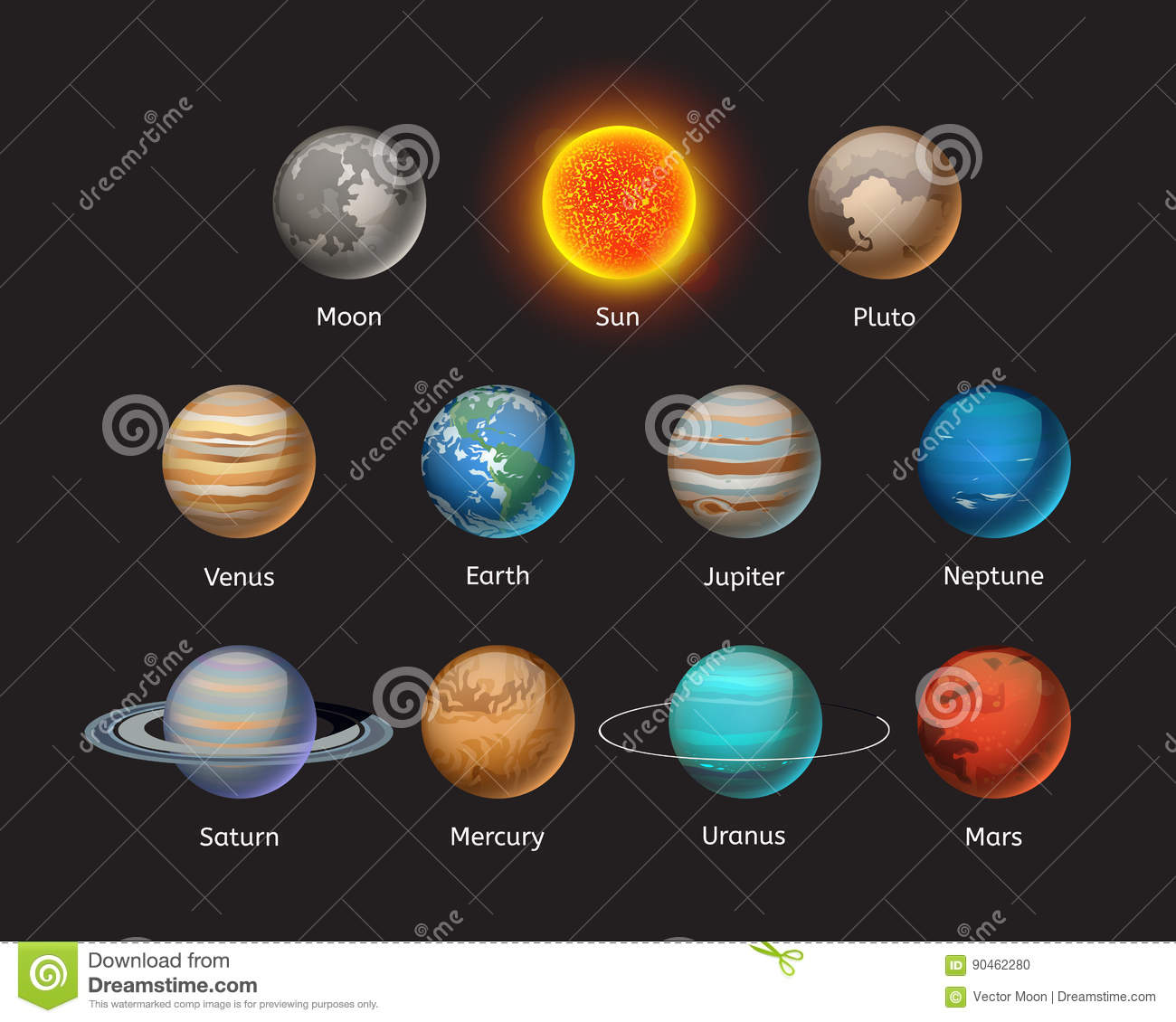 High Quality Solar System Planet Galaxy Astronomy Earth
