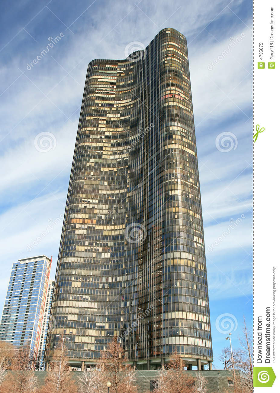 The Highrise Buildings In Chicago Stock Image  Image