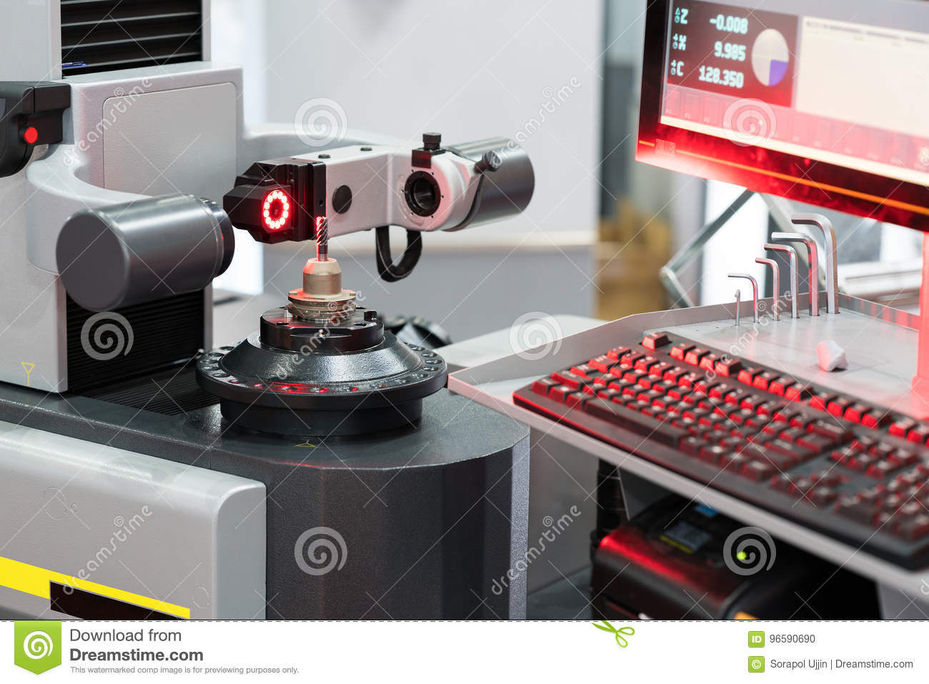 High Technology Tool Presetting Machine Inspection
