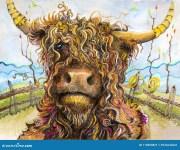 highland stock illustrations