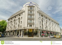 Hilton Hotel In Bucharest Editorial Stock Of