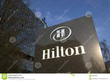 Hilton Hotels And Resorts Logo Building Of
