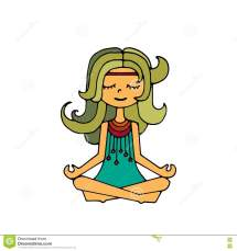 Hippie Girl Clip Art