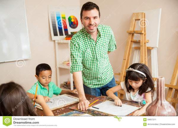 Teacher Helping Hispanic Student